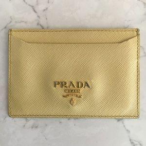 Prada cardholder made in Italy.